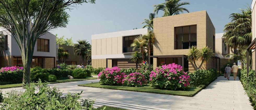 Vista Exterior2 - Villa 2 Niveles