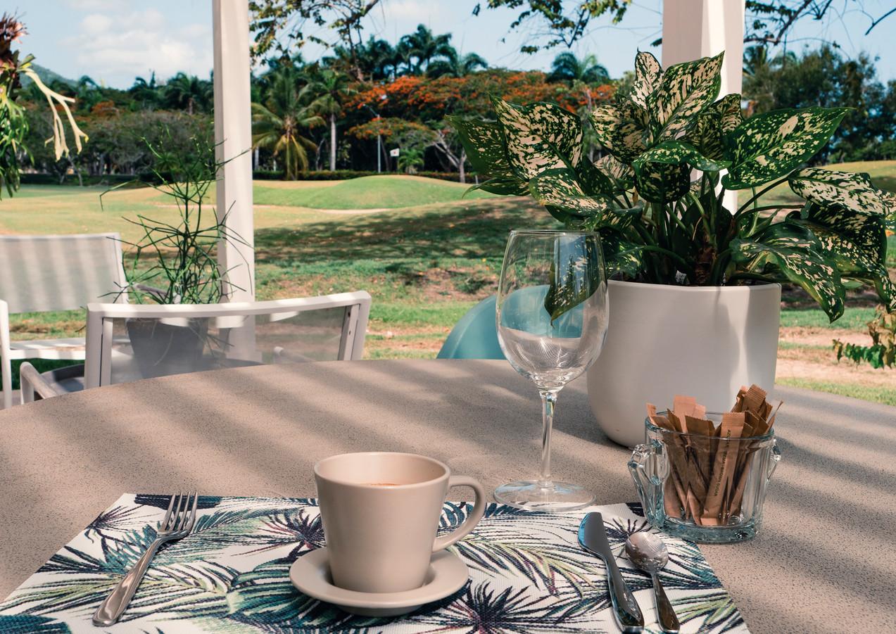 Vista desde Villa al Campo de Golf