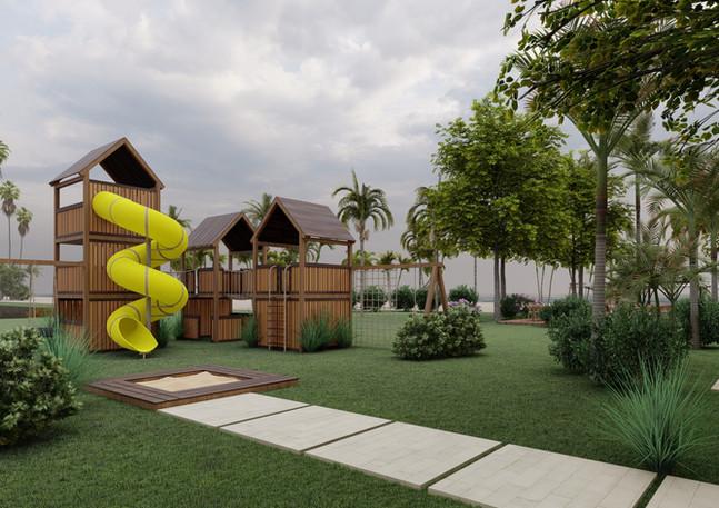 Area Infantil - Club de Playa