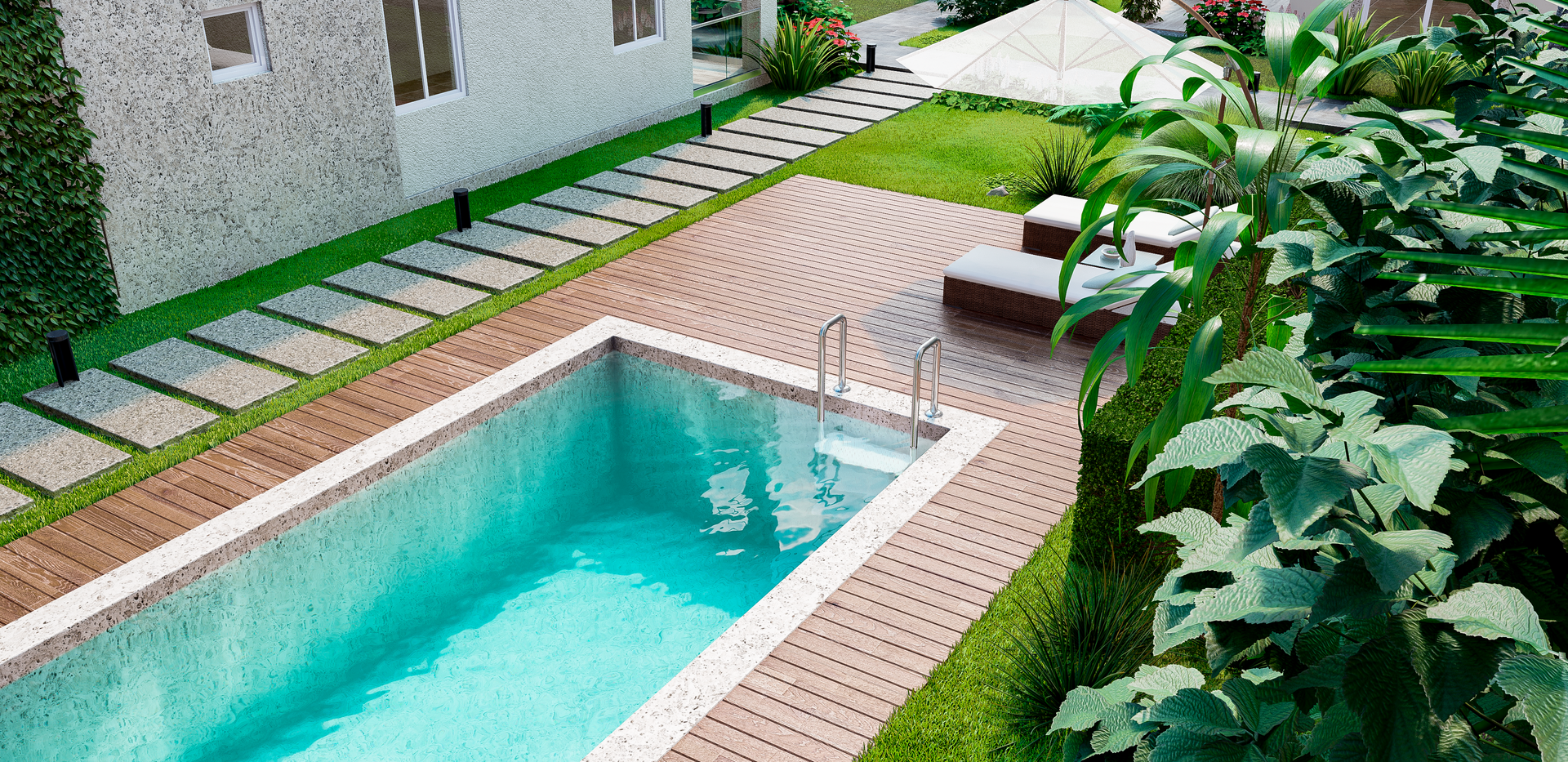 Pool Area - Buildings