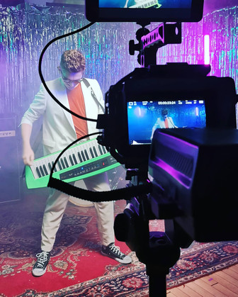 David filming with JUMP in 2020