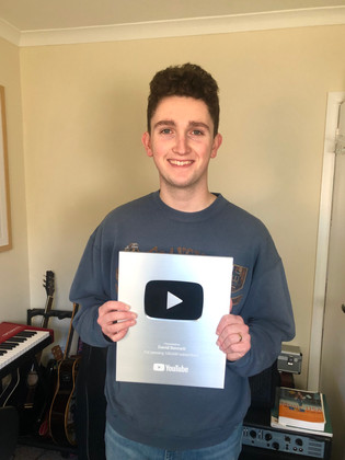 David hit 100k subscriber in November 2019