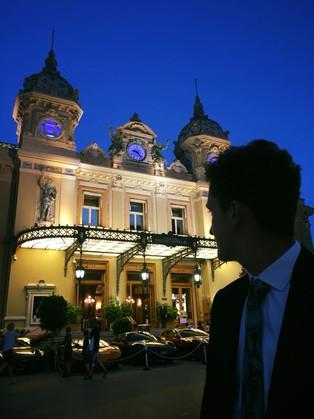 David at Le Casino de Monte Carlo, 2018