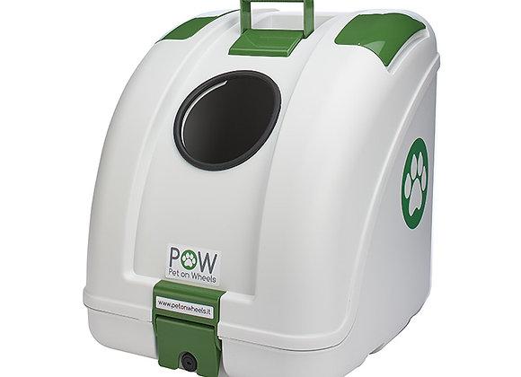 POW ALL WHITE / GREEN INSERT