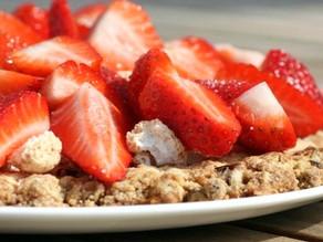 Jordbærtærte med makron