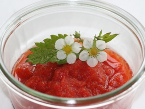 Jordbær salsa