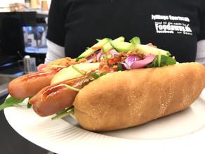 Gourmet hotdog