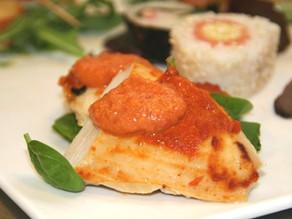 Ovnbagt kylling med salsa