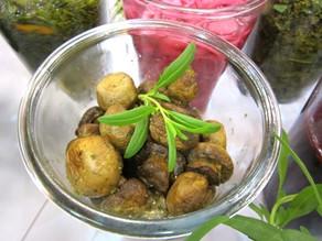 Bagte syltede svampe