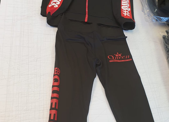 Queen Hooded Tracksuit Adults