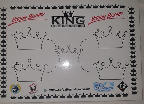 King Vision Board
