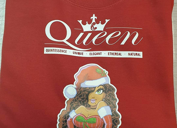 Queen Christmas Jumper Adults