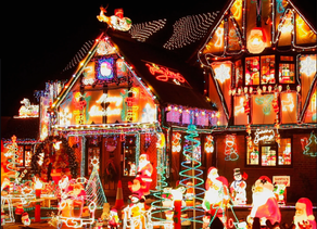 Light up your Christmas safely with LEDs.