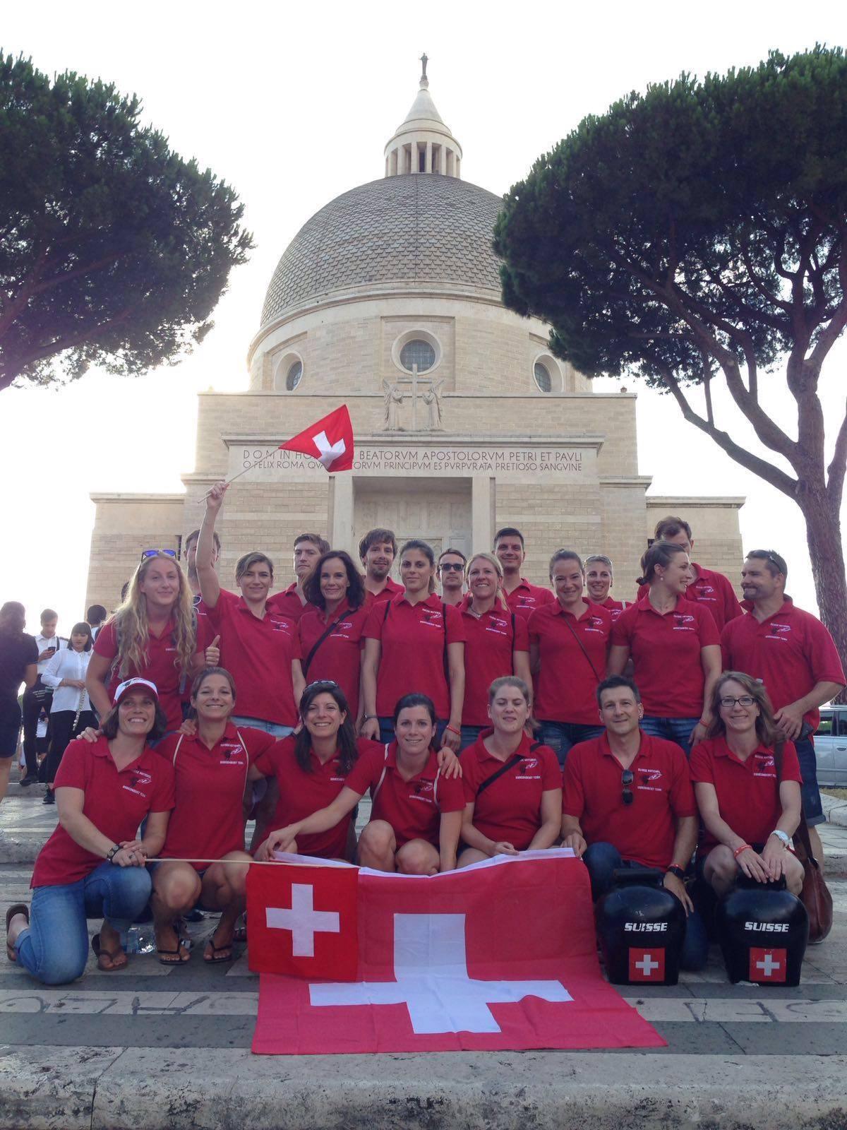 Mixed Team EM Rom 2016