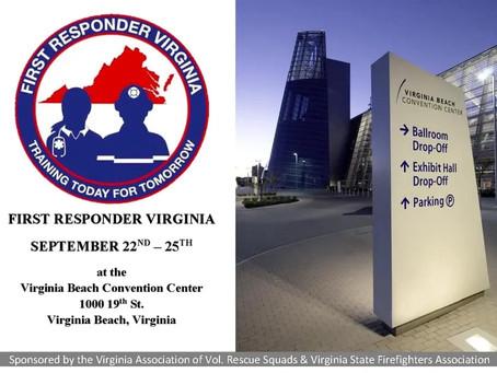 First Responder Virginia Convention