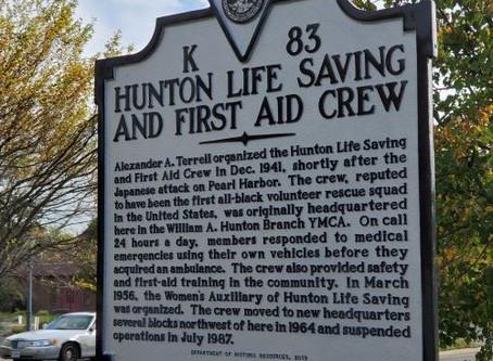 Historically Black Rescue Squad Gets Marker