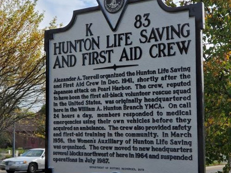 Historically Black Rescue Squad Gets Marker