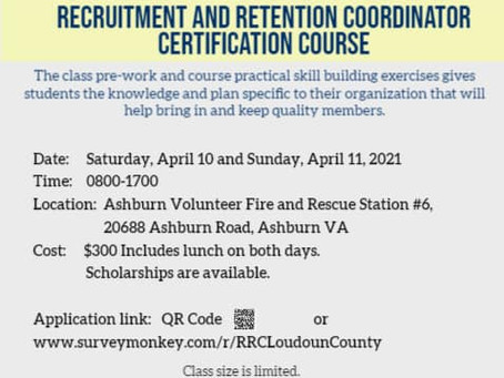 Recruitment and Retention Coordinator Certification Course