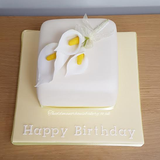 Cala Lilly Birthday cake