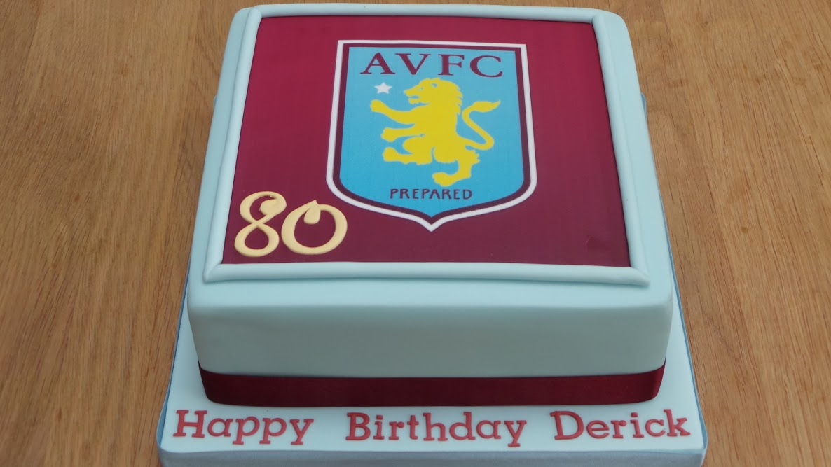 Aston Villa Birthday cake