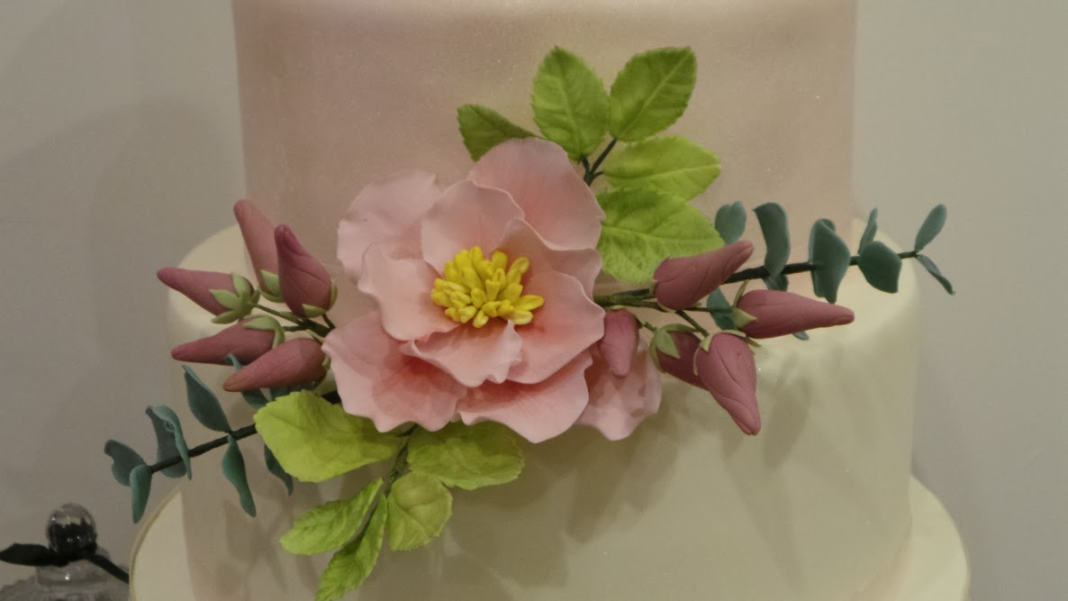 Wedding Cake Sugar Flowers