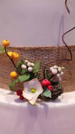 Winter Sugar Flowers