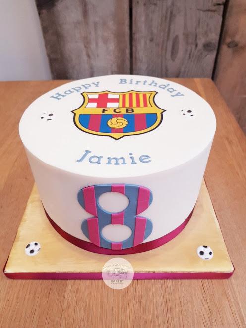 Barcelona Birthday Cake