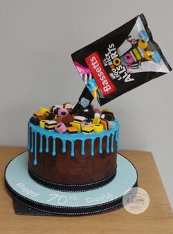 Liqurice Allsorts Drip Cake