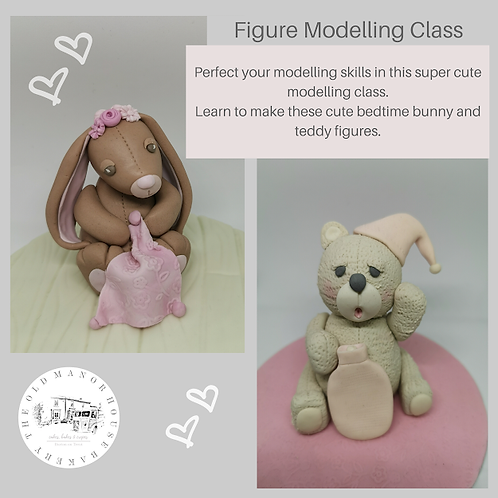 Figure Modelling Class Saturday 7th March 10am-12.30