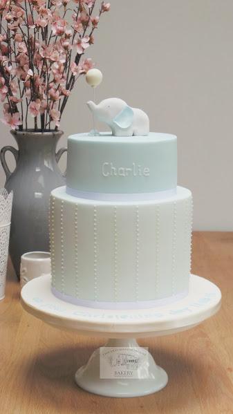 Charlies Christening Cake
