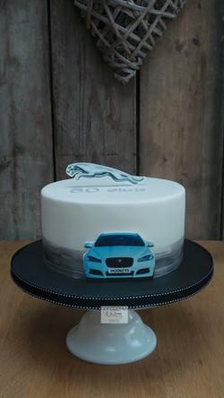 50th Jaguar Cake