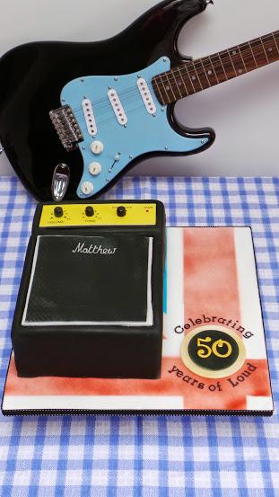 Marshall Amp Cake