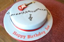 Music Theme Birthday Cake