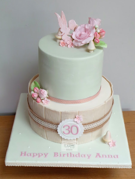 Fairy 30th Birthday Cake