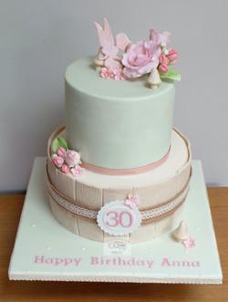 Fairy 30th Birthday Cake