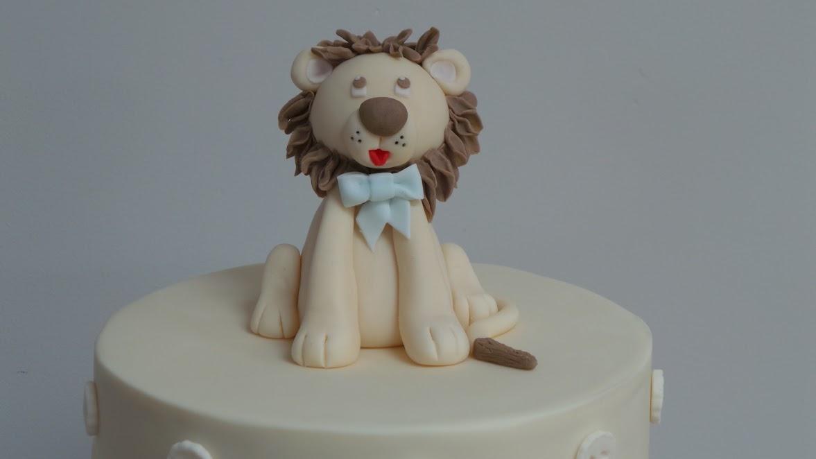 Lion Cub Cake Topper
