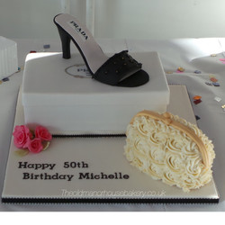 Shoe Birthday cake