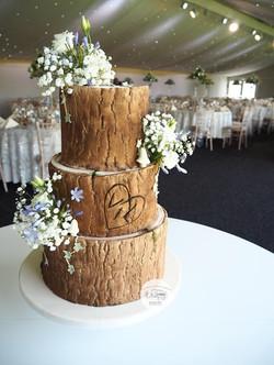 Log Effect Cake