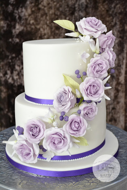 Floral Cascade Wedding Cake