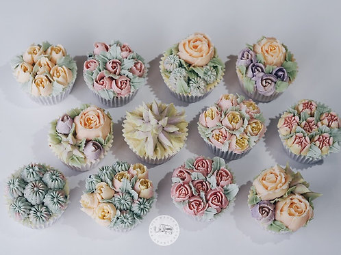 Buttercream Flower Cupcakes 19th April 2020 2-5pm