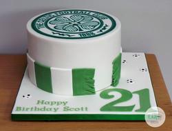 Celtic Rangers Cake
