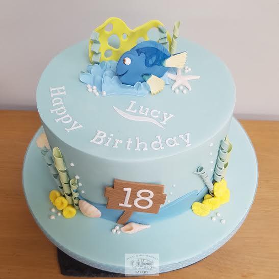 Dory Birthday Cake