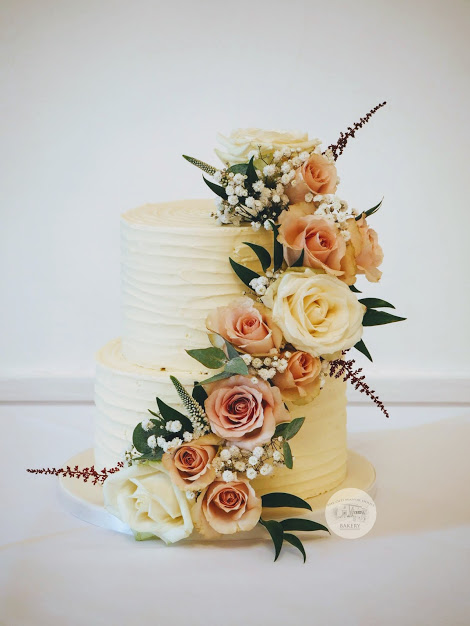 Rustic Buttercream 2 tier