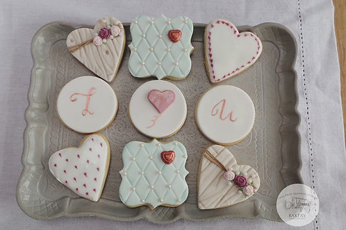 Valentine Cookie Decorating Class 11th February 2018 10.00-14.00