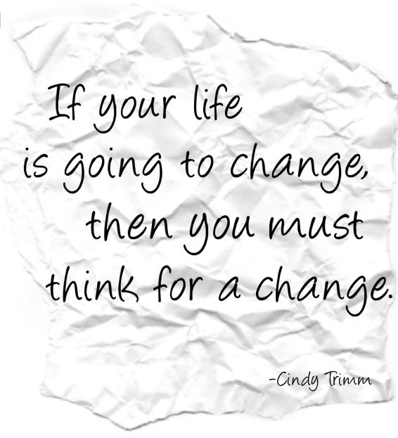 Cindy Trimm - Change
