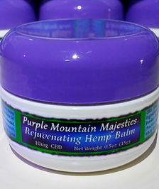 purple mountain hemp balm CBD