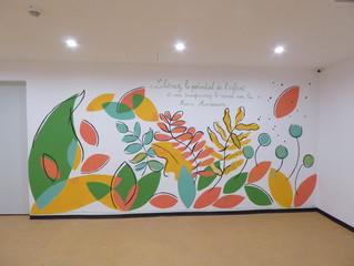 Fresque Nature à Casablanca
