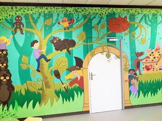 Fresque en Maternelle