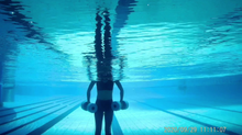 15minutes Water Workout with water dumbbells