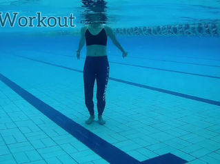 Abs Workout in pool